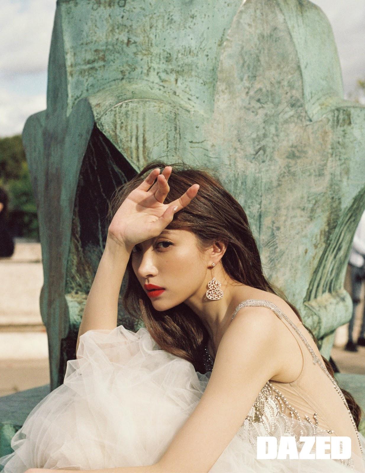 Foto da Hani do Exid para a Revista Dazed
