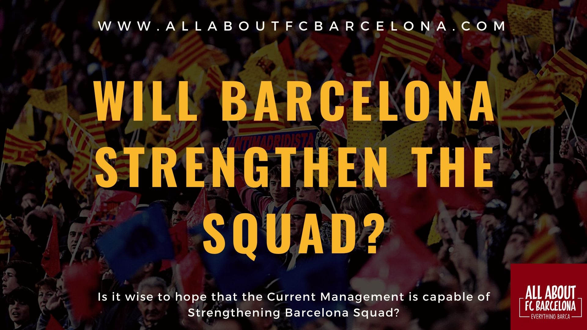 Does Barcelona have a Viable Plan to Strengthen the Squad?