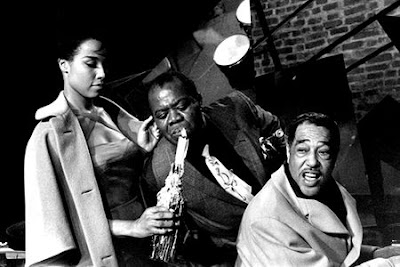 Diahann Carroll, Louis Armstrong, Duke Ellington