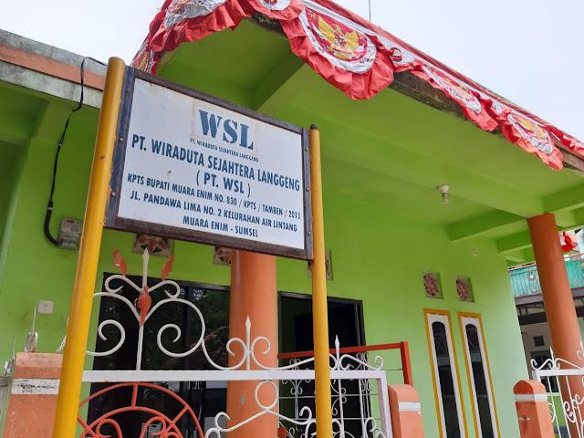 Penambangan PT. WSL Merusak Lahan Warga