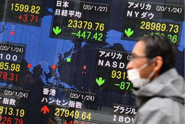 Dólar sube por virus chino