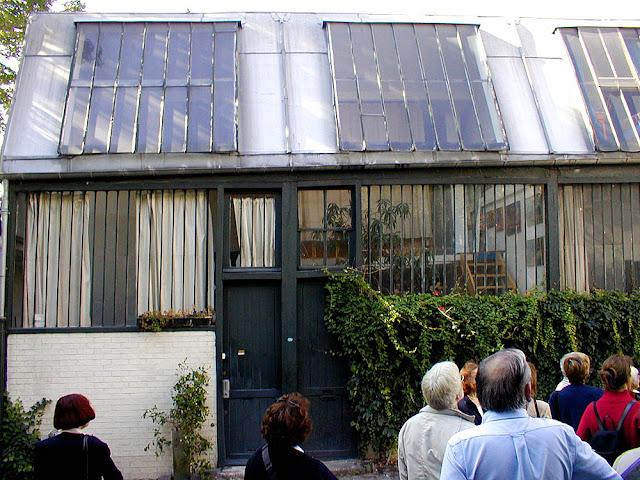 Renoir's studio, Montmartre, Paris, France. Photo by Loire Valley Time Travel.