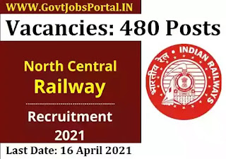 Govt Jobs for 480 Act Apprentice Posts