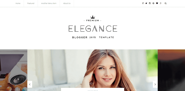 Elegance Blogger Template