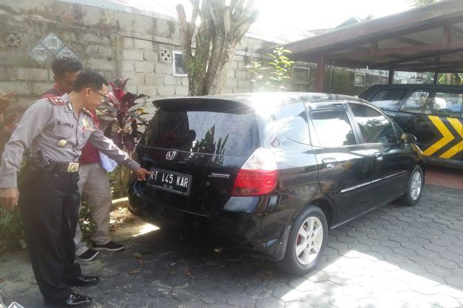 Mapolsek Balikpapan Selatan Kemalingan, Satu Unit Mobil Raib