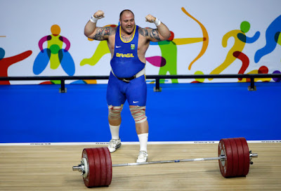 Brazilian Weightlifter Finds Fuelling His Olympic Dream with Food Heavy Going
