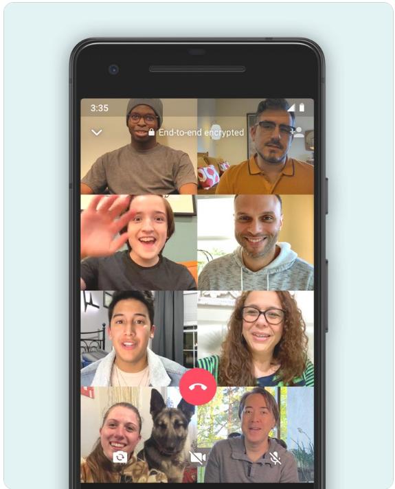 Whatsapp-8-people-videochat