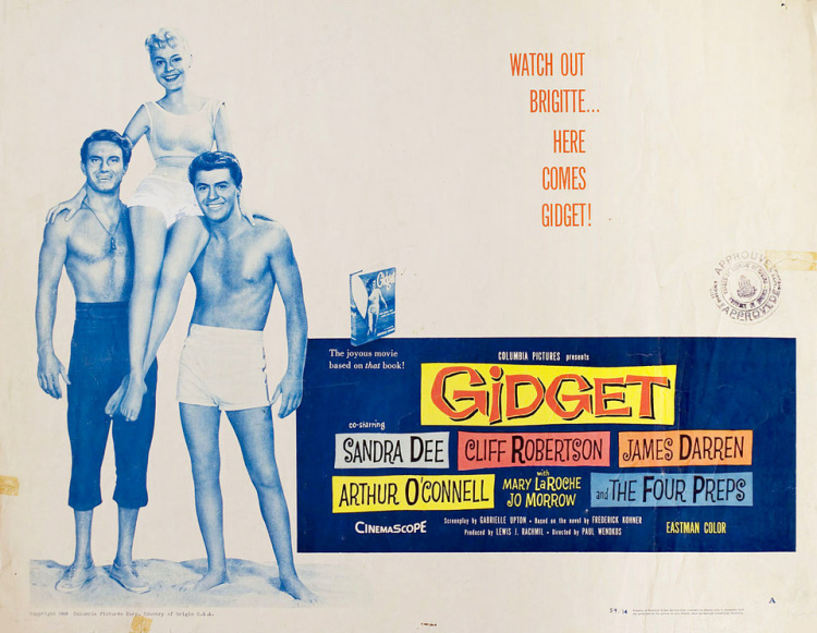A Vintage Nerd, Vintage Blog, Classic Beach Movies, Old Hollywood Blog, Classic Film Blog, Retro Lifestyle Blog, Gidget