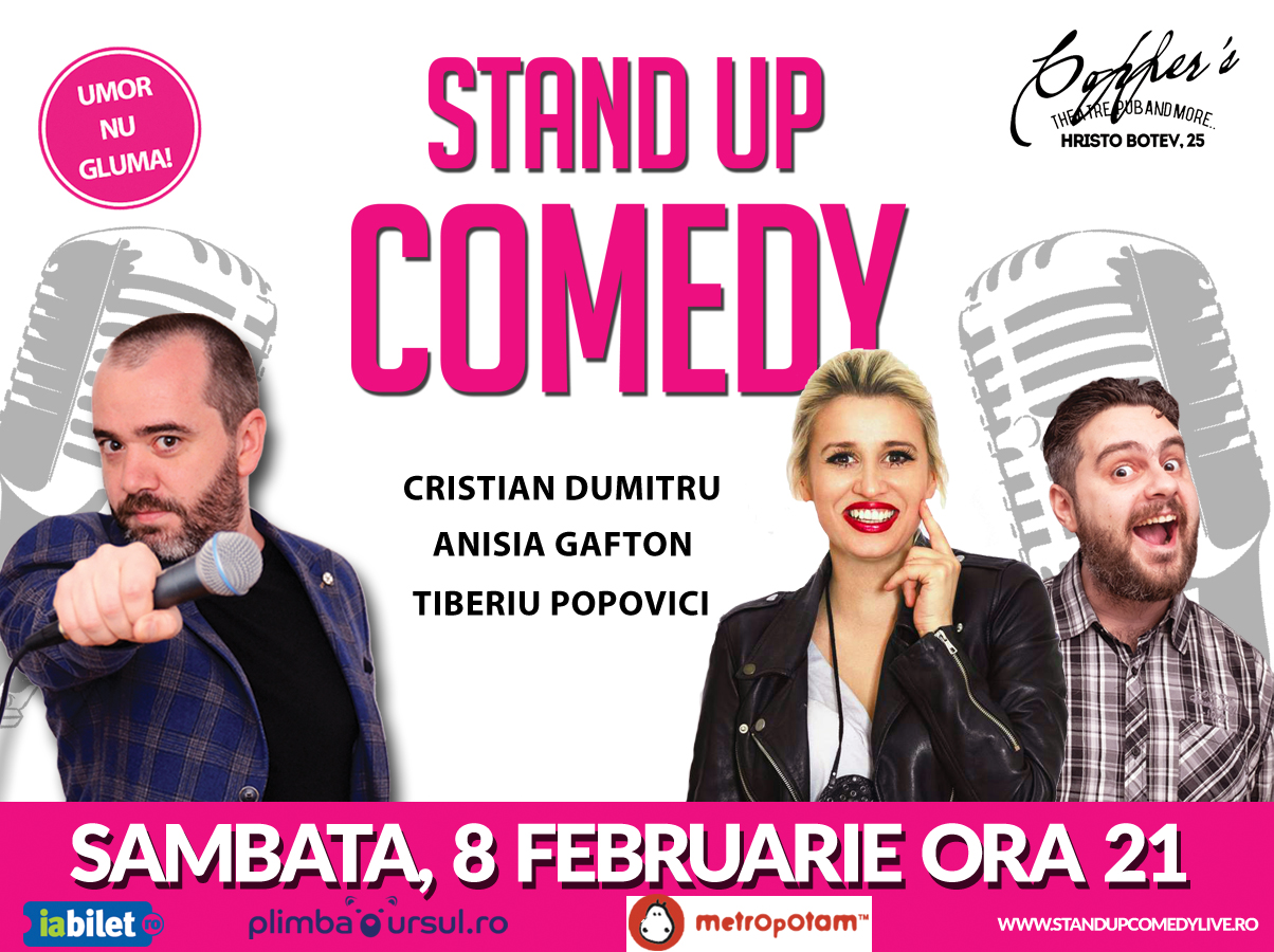 Spectacol Stand-Up Comedy Club Bucuresti