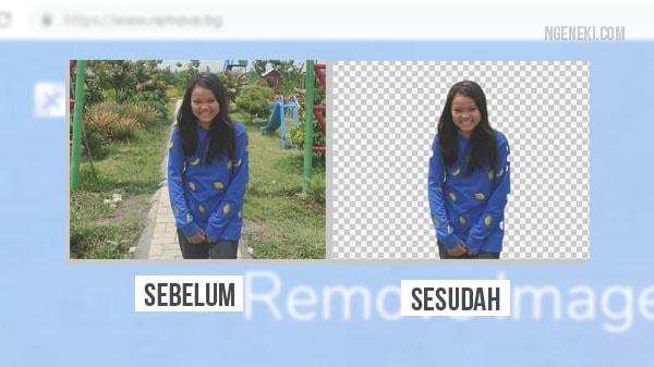 Cara Menghilangkan Background Foto Otomatis Secara Online