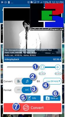 cara mengubah format video menjadi audio mp3 di hp