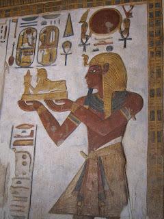 Ramses III tomb painting