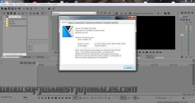 MAGIX Vegas Pro 14.0.0 Build 252