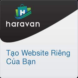 Tạo website cho riêng bạn với Haravan. Thử ngay!