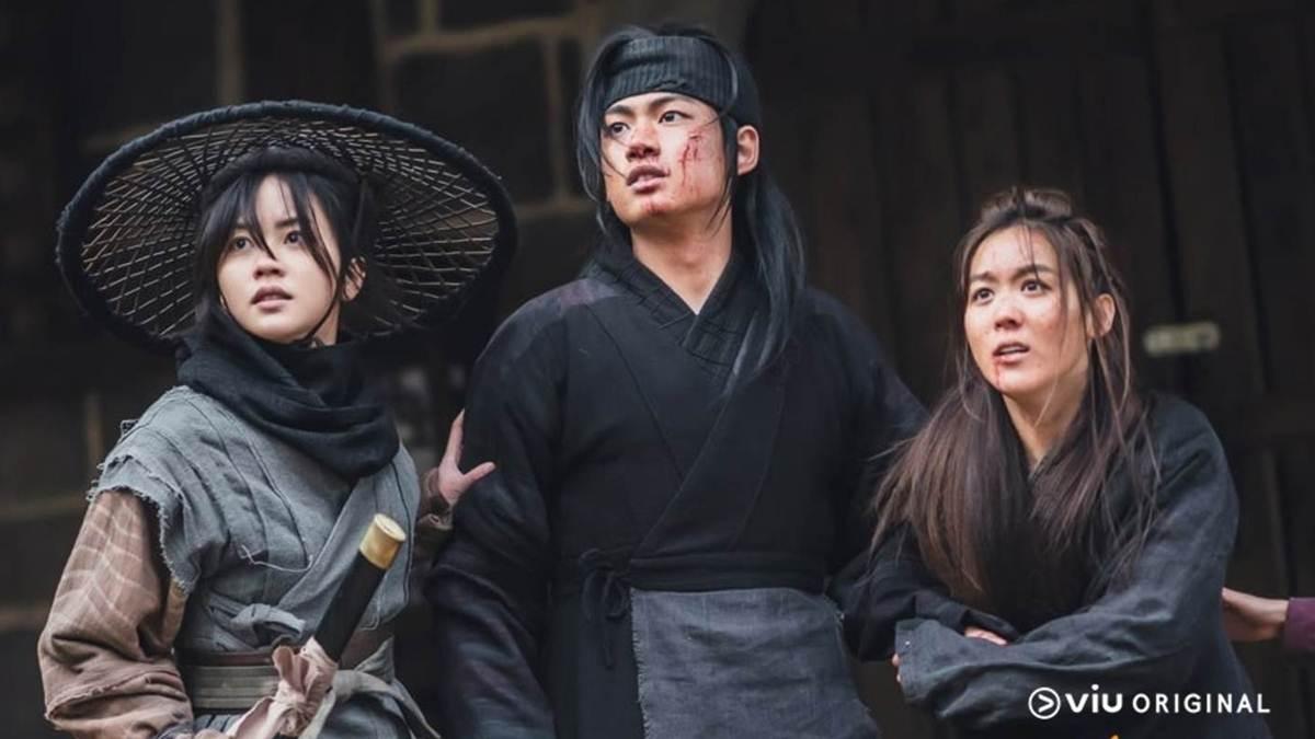 Pyeonggang dan dua rekannya di Cheonjubang