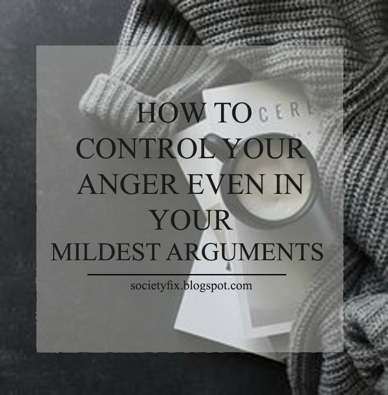 Are you like me; a person who gets angry very easily? If you are, I bet that you don't like it and if you don't, let me tell you why you should not like getting angry, at least easily, if not at all.