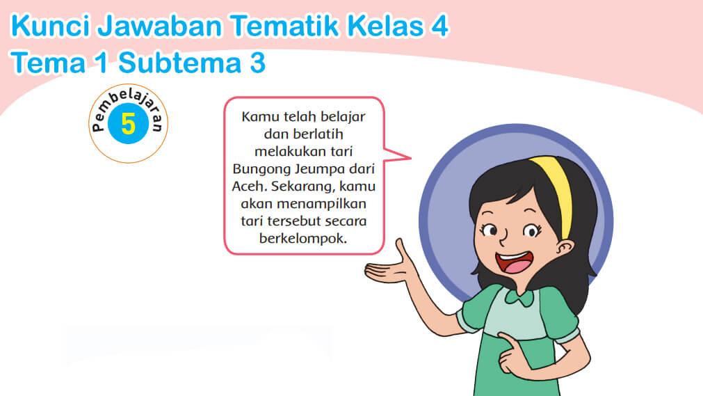 ( pilihlah jawaban yang benar dengan menyilang (x) huruf a, b, c, atau d ! Jawaban Tematik Kelas 4 Tema 3 Halaman58 Peranti Guru