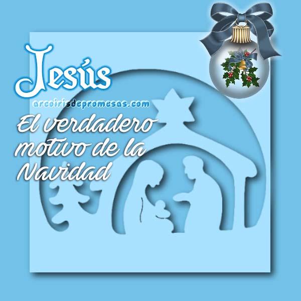 jesús es el importante mensajes de navidad con imágenes arcoiris de promesas