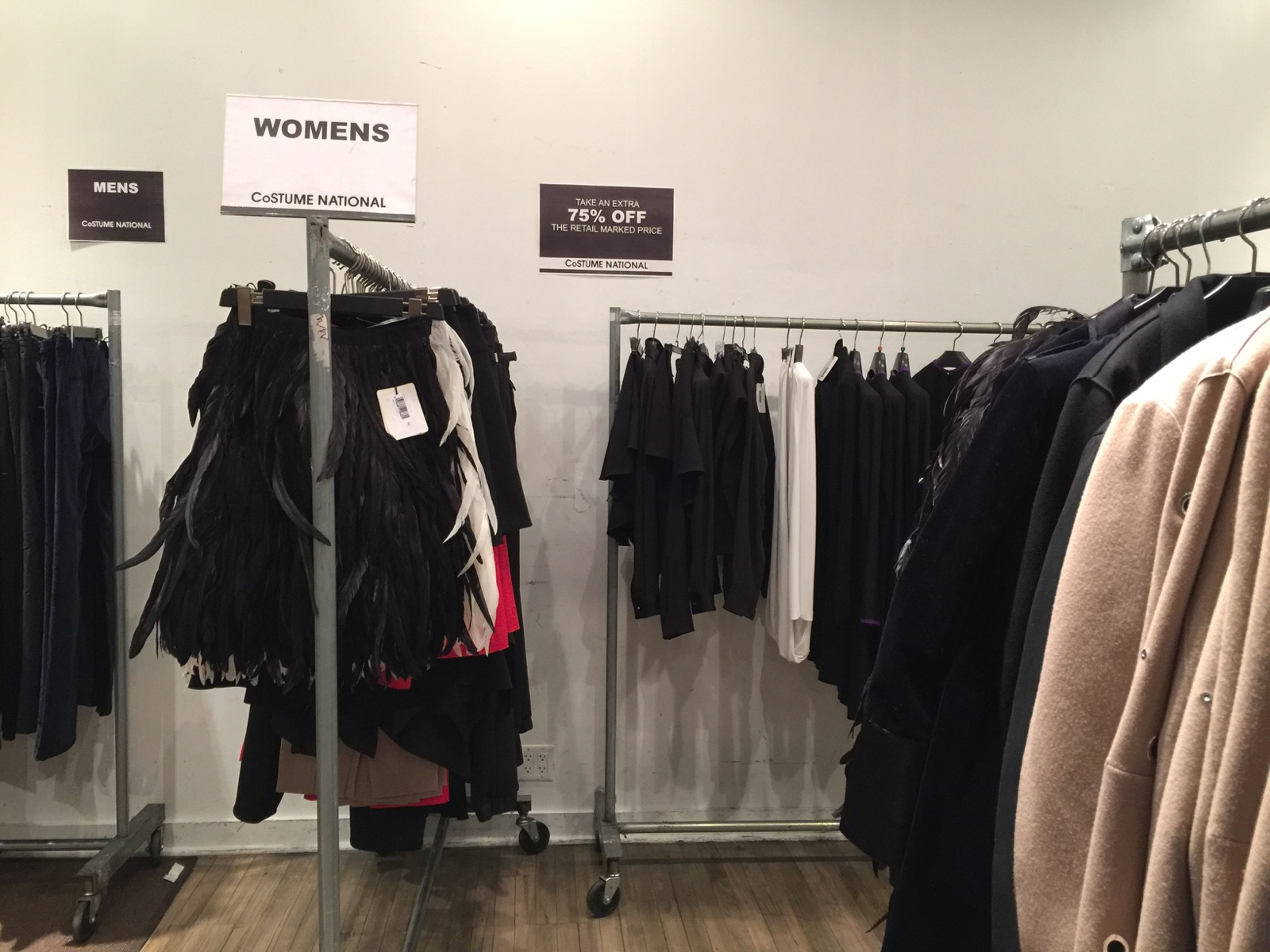 Costume National Sample Sale is now 85% off | Practically Haute