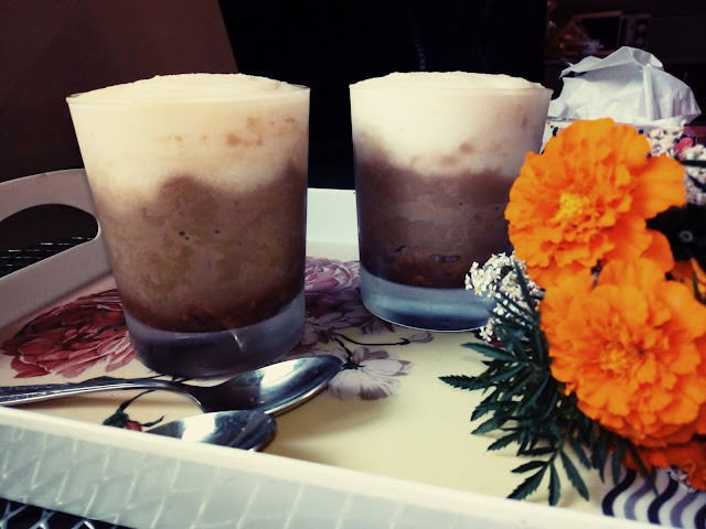 deser kawowo grysikowy deser w szklankach deser mleczny deser cafe latte deser w pucharkach deser z kaszy manny deser budyniowy
