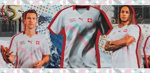 maglie calcio online 2020: Divise calcio Svizzera 2020 2021 seconda