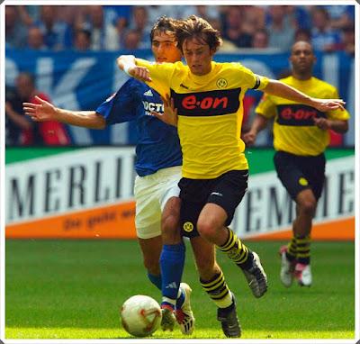 Thomas Rosicky Dortmund Schalke 04