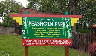 Peasholm Park in Scarborough
