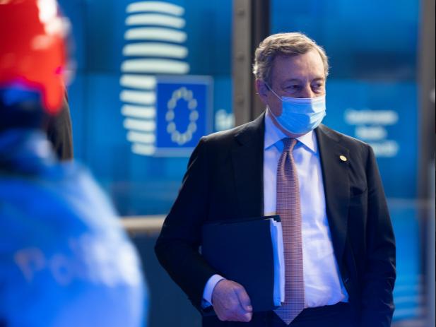 """Draghi al Consiglio europeo: """"Nessun muro ai confini Ue"""""""