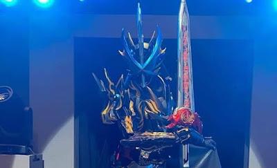 Kamen Rider Saber - Saber's Ultimate Bahamut Form Revealed