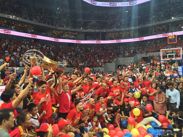 San Miguel wins 2016 PBA Philippine Cup title.