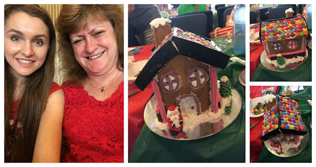 Building a Gingerbread House with Mum