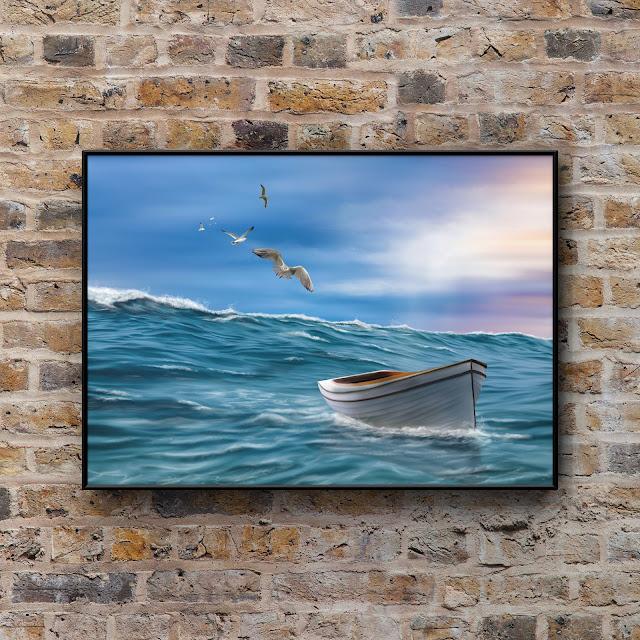 adrift artwork by Mark Taylor