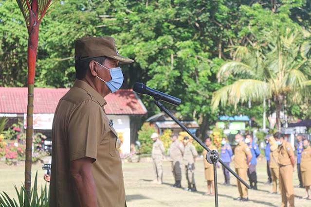 Tonny Tesar Bantah Isu Cari Untung dari Pandemi Covid-19 di Kepulauan Yapen.lelemuku.com.jpg