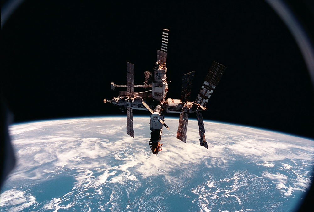Mir space station.