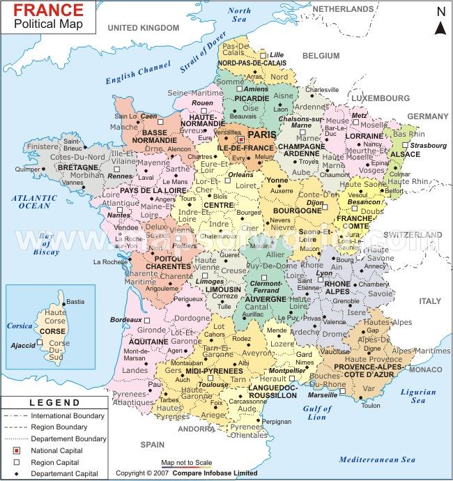 mapa de frança detalhado Francês Universal: Bem vindo ao Curso Francês Universal mapa de frança detalhado
