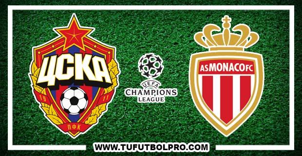 Ver CSKA Moscú vs AS Mónaco EN VIVO Gratis Por Internet Hoy 18 de Octubre 2016