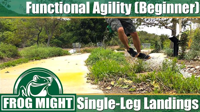 Functional Agility (Beginner) - Single-Leg Landings