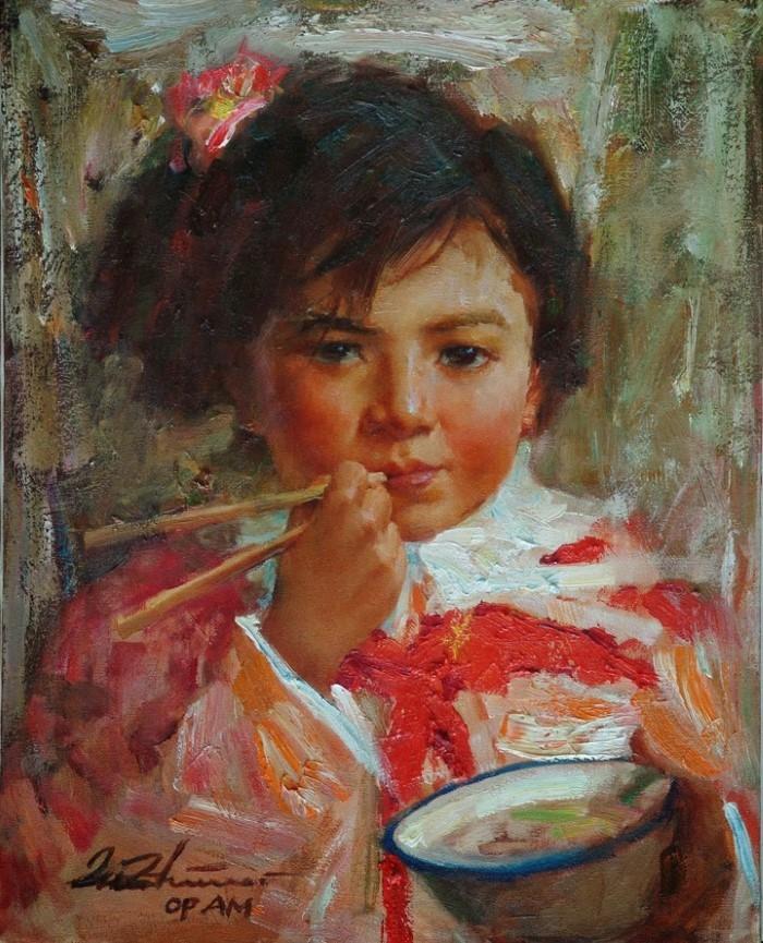 Китайский художник. Zhiwei Tu
