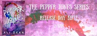 Release Blitz: The Pepper Jones Series by Ali Dean
