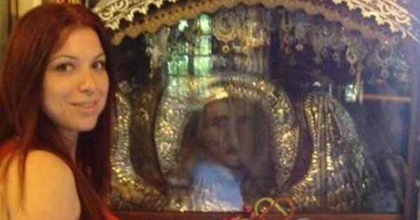 Παράξενο φαινόμενο με φωτογραφία του Ταξιάρχη στον Μανταμάδο Λέσβου