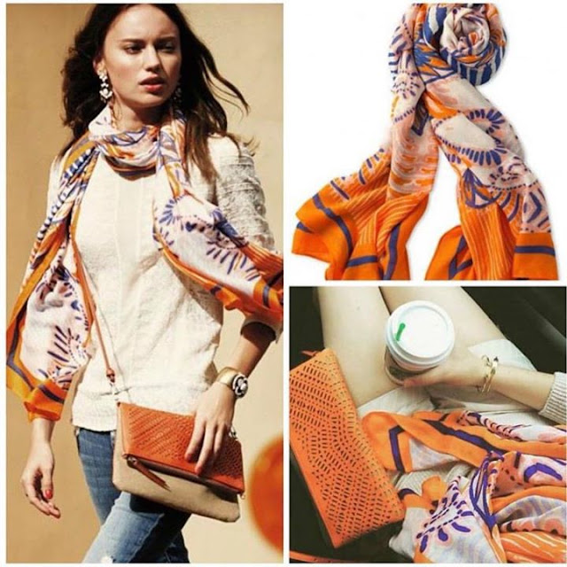 Stella & Dot scarf only $15 when you spend $50 or more through September 8!