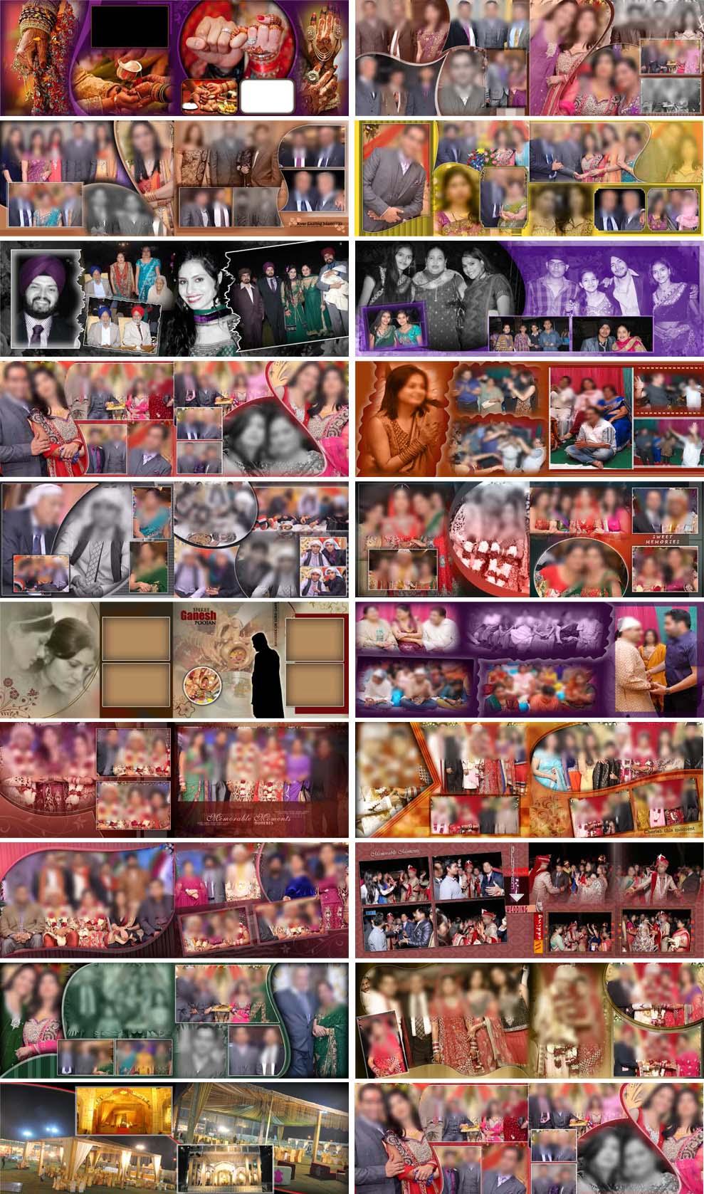 Magic Photo Album PSD Designs