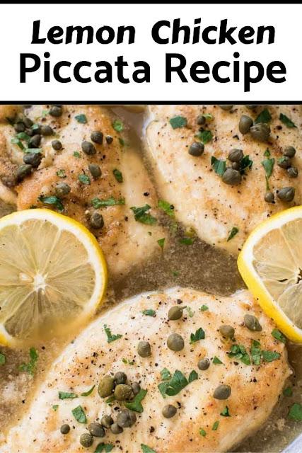 Lemon Chicken Piccata Recipes #Lemon #Chicken #Piccata #Recipes Chicken Recipes Healthy, Chicken Recipes Easy, Chicken Recipes Baked,