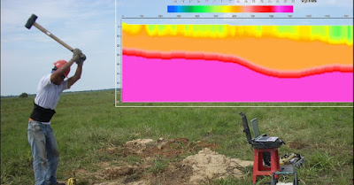 Método Sísmico de exploración de suelos, geofísica