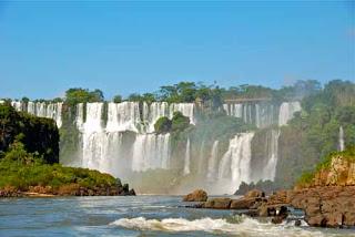 San Martin Mbigua Falls IIguazu Falls Argentina