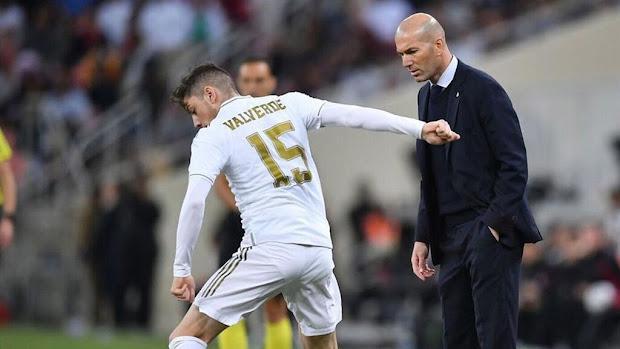 ديفنسا سنترال: زيدان يحذر فالفيردي قبل صدام ريال مدريد وأتلتيك بلباو