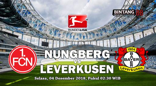 Prediksi Nurnberg Vs Leverkusen 4 Desember 2018