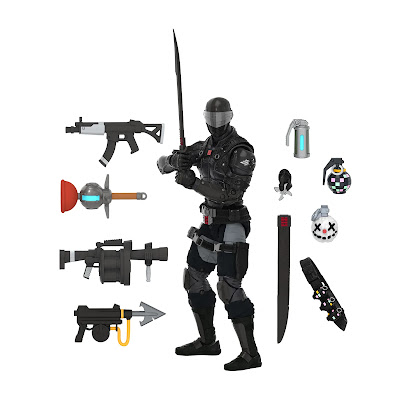 Fortnite x G.I. Joe: Classified Snake Eyes Zero Point Edition Action Figure