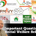Social Welfare Schemes Question Bank | Kerala PSC GK
