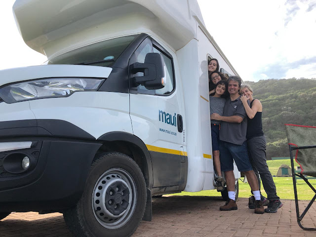 Viajando de motorhome pela África do Sul com a família